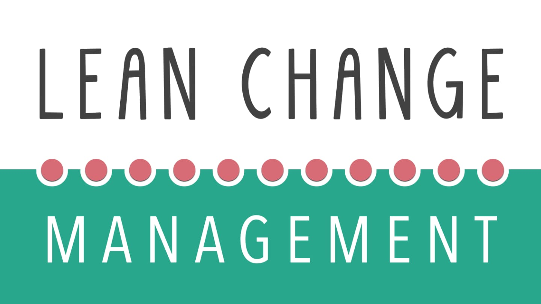 Lean Change Management cover image
