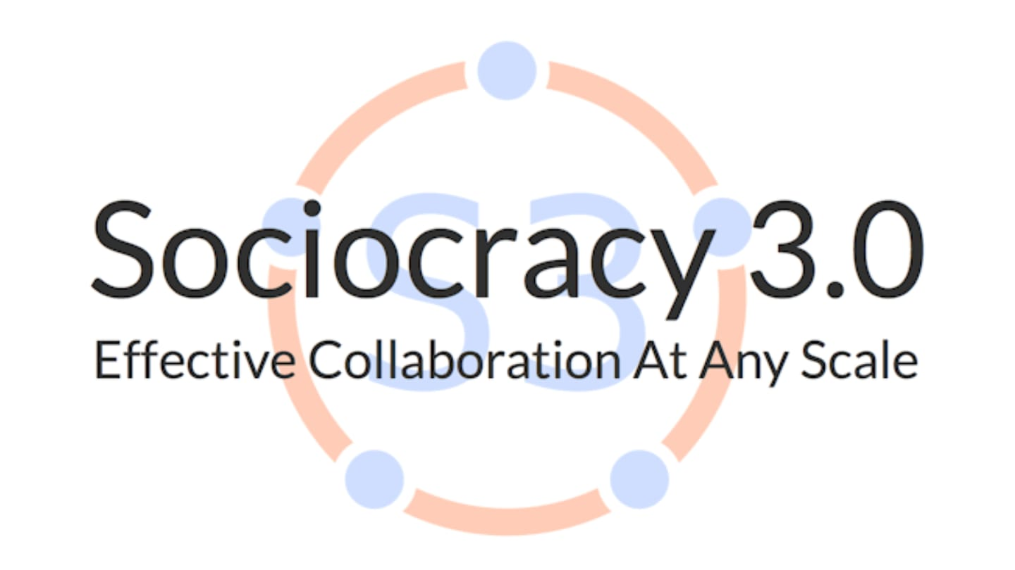 Sociocracy 3.0 cover image