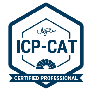 ICP-CAT badge image